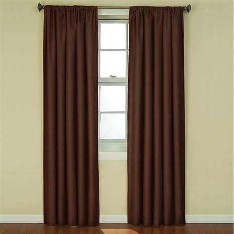 Eclipse Curtains Kendall Blackout Window Curtain Panel Eclipse Nursery Curtains