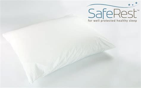 bed bug pillow encasements saferest zippered bed bug proof pillow protector