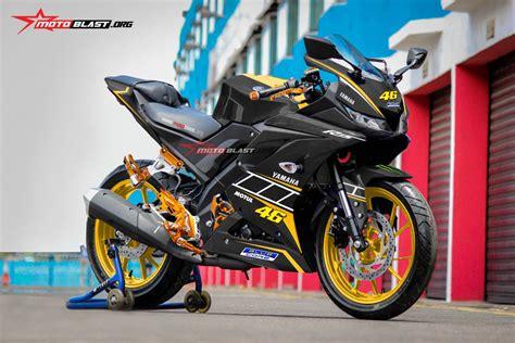 new r 15 2017 hot modifikasi striping all new yamaha r15 ala repsol