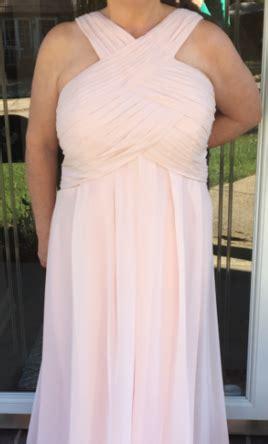 petal colored bridesmaid dresses bill levkoff 1218 petal pink size 22 bridesmaid dresses