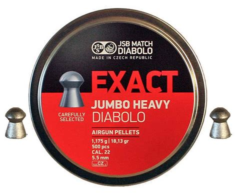 Jsb Exact Heavy 177 Pellets jsb exact 22 heavy pellets