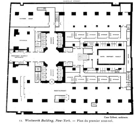 woolworths floor plan architecture photography ad classics woolworth building