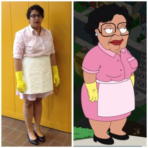Cleaning Lady Family Guy Meme - a perfectly executed family guy cleaning lady consuela