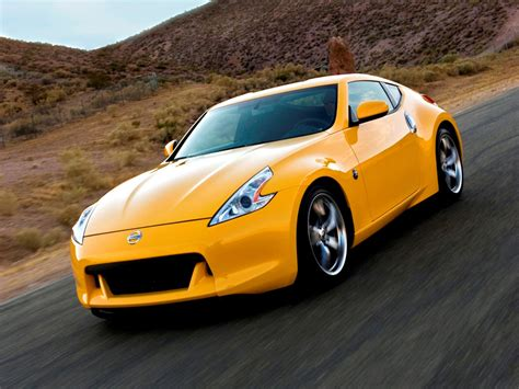 yellow car photo nissan 370z yellow car