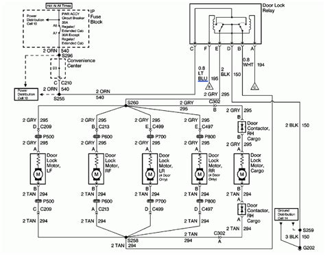 2011 chevy silverado door lock wiring diagram 2011