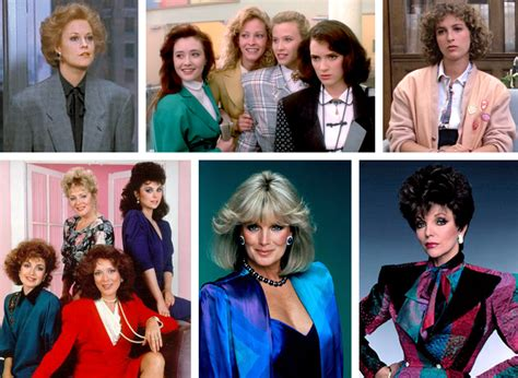 designing women tv shows 80s shoulder pads like totally 80s