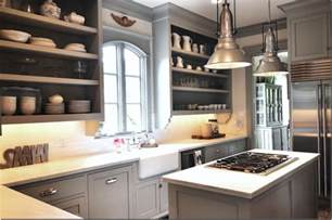 grey painted kitchen cabinets header gray kitchen love