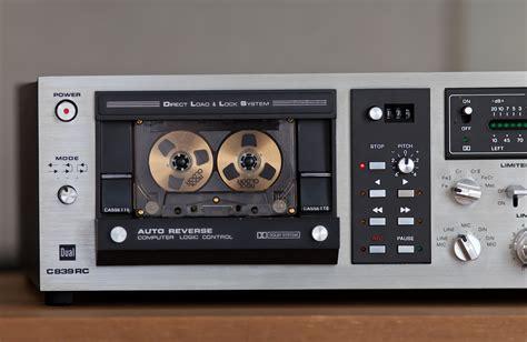cassette deck cassette deck dual c839rc revintages