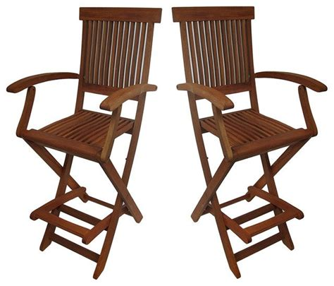Bar Stool Height Outdoor Chairs by Folding Outdoor Bar Stools Home Ideas
