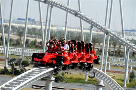 roller coaster abu dhabi formula rossa series scariest rollercoasters