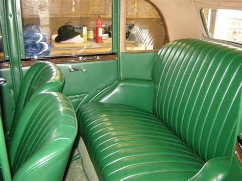 upholstery austin 1936 austin 10 sherborne saloon pauls custom interiors