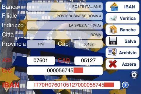 ricerca codici iban banche italiane recensione ibanplus calcoliamo il codice iban