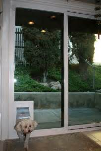 Sliding Glass Door Doggie Door Insert by Diy Doggie Doors For Sliding Glass Doors Build In Installation
