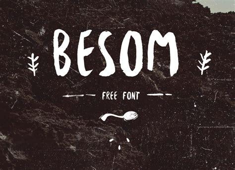 design font brush besom free brush font wildtype