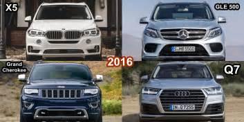 Audi Jeep Benim Otomobilim 2016 Bmw X5 Vs Audi Q7 Vs Jeep Grand