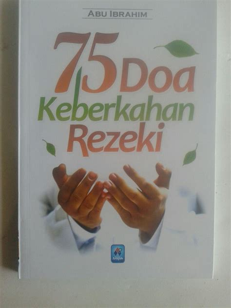 Buku Original Agar Doa Dikabulkan buku saku 75 doa keberkahan rezeki