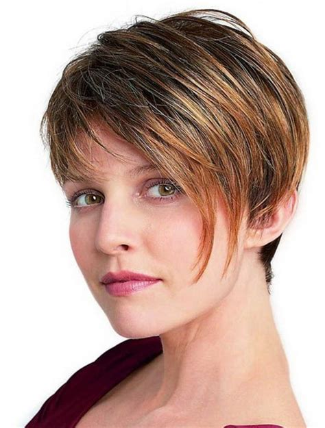 pictures of short hair on big women short haircuts for fat women