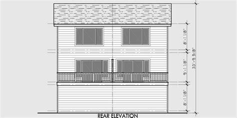 townhouse plans narrow lot duplex house plans narrow lot townhouse plans d 526