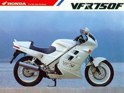 Honda Vfr 750 Rc24 Aufkleber by Honda Vfr 750 F Brochure Motorcycles Pinterest Honda