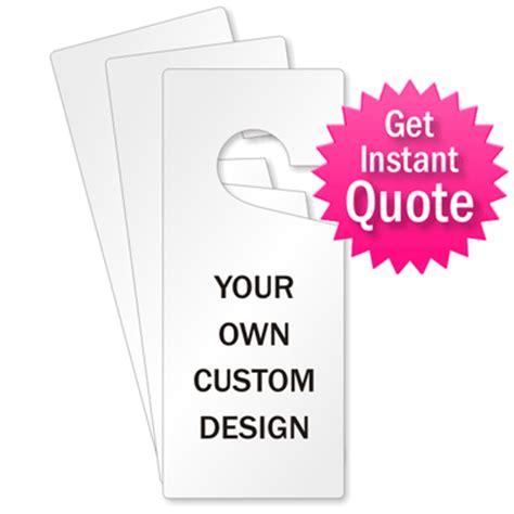 Custom Door Hanger by Custom Door Hangers