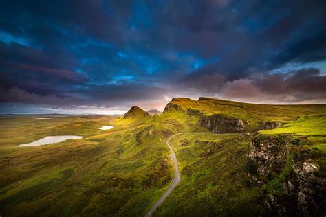 scotland   hebrides archipelago isle  skye sky