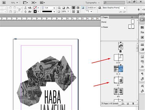 membuat nomor halaman indesign cara membuat nomor halaman berbeda pada indesign bekerja