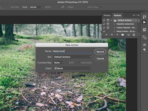 adobe photoshop cs3 watermark tutorial tutorial how to add watermarks to photos with adobe