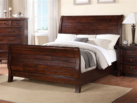 wooden sleigh bed with storage drawers queen wooden sleigh bed with storage drawers railing