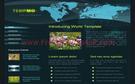 blog theme css dark green news css website template jpg freethemes4all