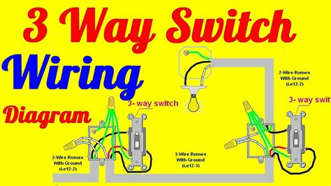 three way switch wiring diagrams elvenlabs