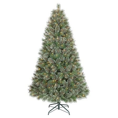6ft pre lit artificial christmas tree virginia pine