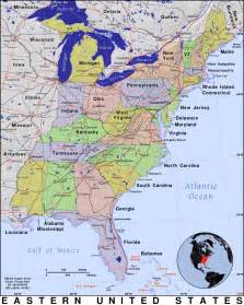 Eastern United States Map by Pics Photos Maps United States Eastern United States