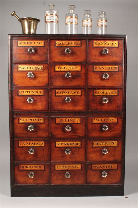 apothecary cabinet lot 111 apothecary cabinet w apothecary items