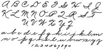 what does the of cursive constant commoner