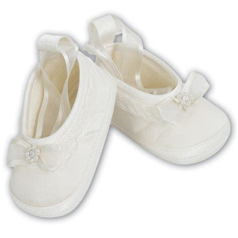 christening shoes for baby louise baby ivory christening shoes