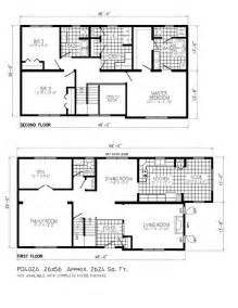 Two Storey House Plans by 2 Story House Floor Plans On Home Design With