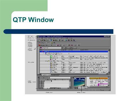qtp tutorial website qtp 9 2 tutorial