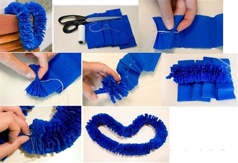 como hacer una guirnalda con circulos de papel moldes y patrones 17 best images about manualidades en papel crepe on
