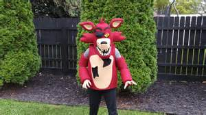 Foxy Costume Foxy The Pirate Costume Mask Five Nights At Freddy S