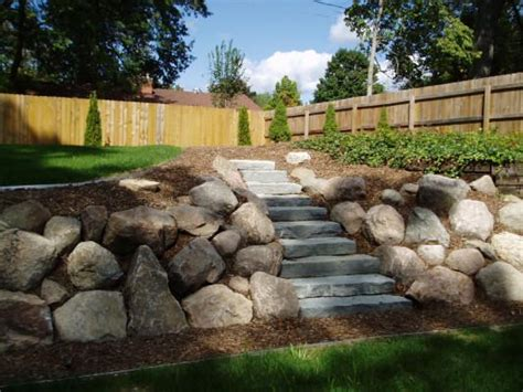 stone walls retaining walls robin aggus natural the 25 best boulder retaining wall ideas on pinterest