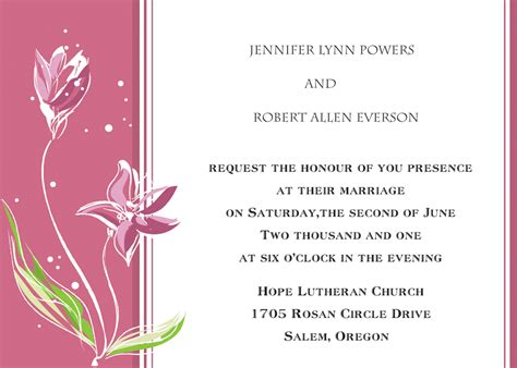 Simple Marriage Invitation Card Design by Wedding Cards Design Background Chatterzoom