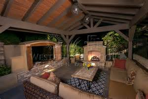 Backyard Fire Pit Designs Outdoor Living Spaces Outdoor Patio Spaces Gallery Western