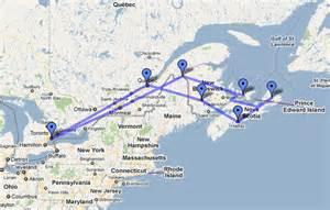 map canada east coast images frompo