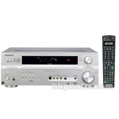 pioneer vsx   home theater receiver silver vsxs bh