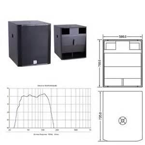 Term Pro Enclosure Design Software Free Download Dj Subwoofer Speaker Box Dj Amps Dj Equipment Buy 18 X
