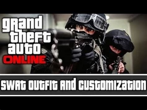 tutorial gta online ps4 gta 5 online swat outfit tutorial ps4 version glitch