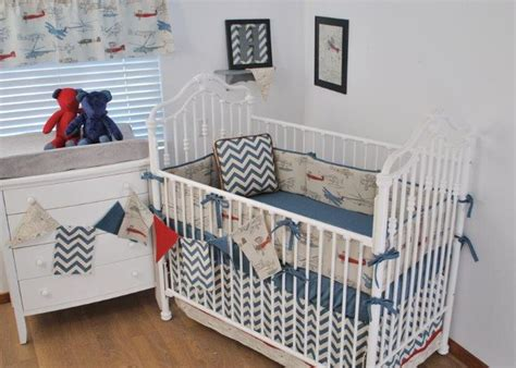 vintage airplane crib bedding 1000 images about baby boys nursery on pinterest