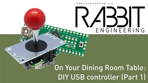 Building A Dining Room Table Building A Diy Usb Controller Part 1 On Your Dining