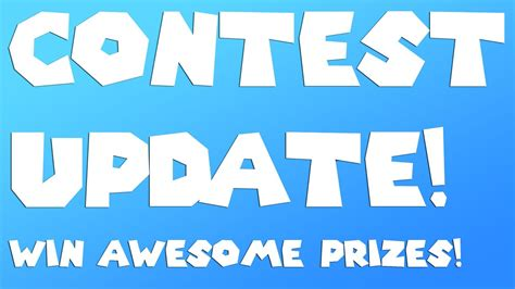 Popgadget Prize Contest Updates by Contest Update Win Awesome Prizes