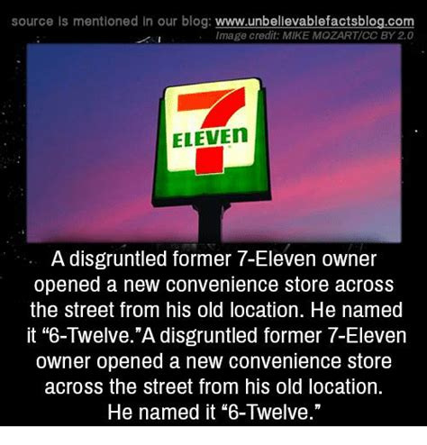 Convenience Store Meme - source is mentioned in our blog wwwunbellevablefactsblogco